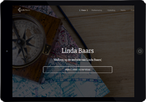 Link to the portfolio of Linda Baars Social worker.